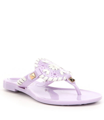 LITTLE MISS GEORGICA JELLY LILAC/WHITE