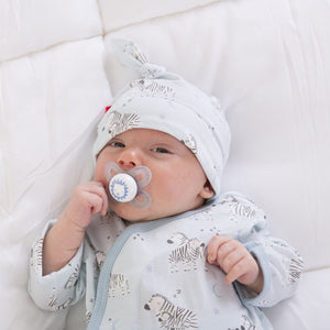 Blue Little Ones Modal Magnetic Gown & Hat