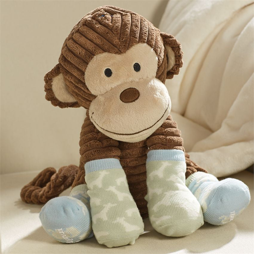 Plush Monkey w/Socks