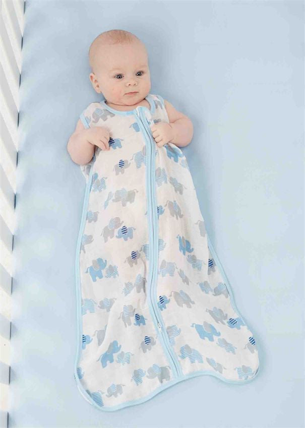 Boy Layette Swaddle Sack