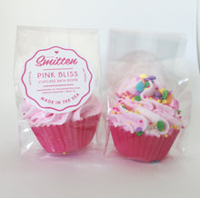 Load image into Gallery viewer, Pink Bliss Mini Cupcake Bath Bomb