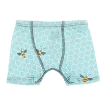 Load image into Gallery viewer, Glacier Honeycomb & Twilight Fishbowl Boxer Briefs