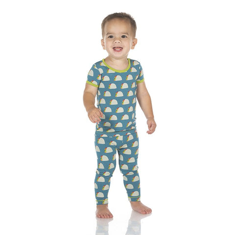 Seagrass Tacos Short Sleeve Pajama Set