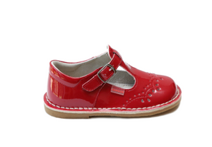Ruthie Stitched Patent Red Maryjane