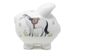 Giddy Up Horse Piggy Bank