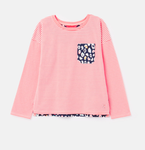 Pink Stripe Bliss Hotchpotch Top