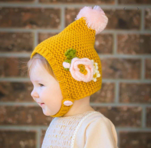 Poppy Gold Hat