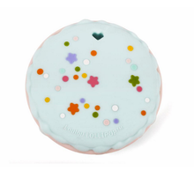 Load image into Gallery viewer, Macaroon Teether w/Cotton Candy Holder Loulou