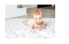 Load image into Gallery viewer, Rainbow Sky Cotton Muslin Swaddle