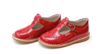 Load image into Gallery viewer, Ruthie Stitched Patent Red Maryjane