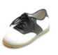 White & Black Saddle Shoes