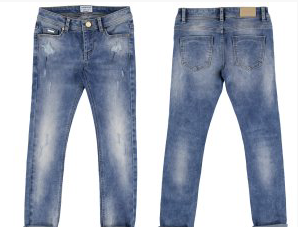 Denim Basic Slim Fit Pants