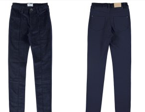 Navy Long Trousers