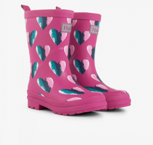 Load image into Gallery viewer, Hearts Rain Boots