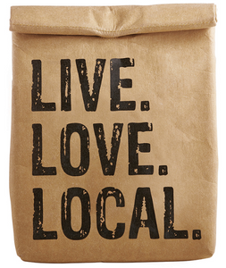 LIVE LOVE LOCAL Lunch Cooler Bag