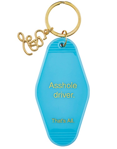 A$$hole Driver Key Tag