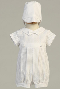 Mason Christening with Detachable Gown & Hat