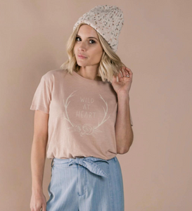 Wild at Heart Basic Tee