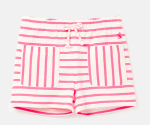 Lockport White Pink Stripe Shorts