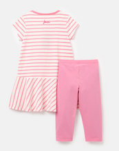 Load image into Gallery viewer, Iona White Pink Stripe Dress