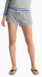 Jodies Heathered Grey Terry Short