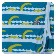 Sea Monster Swaddling Blanket