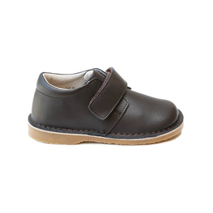 Oliver Chocolate Stitch Down Velcro Boot
