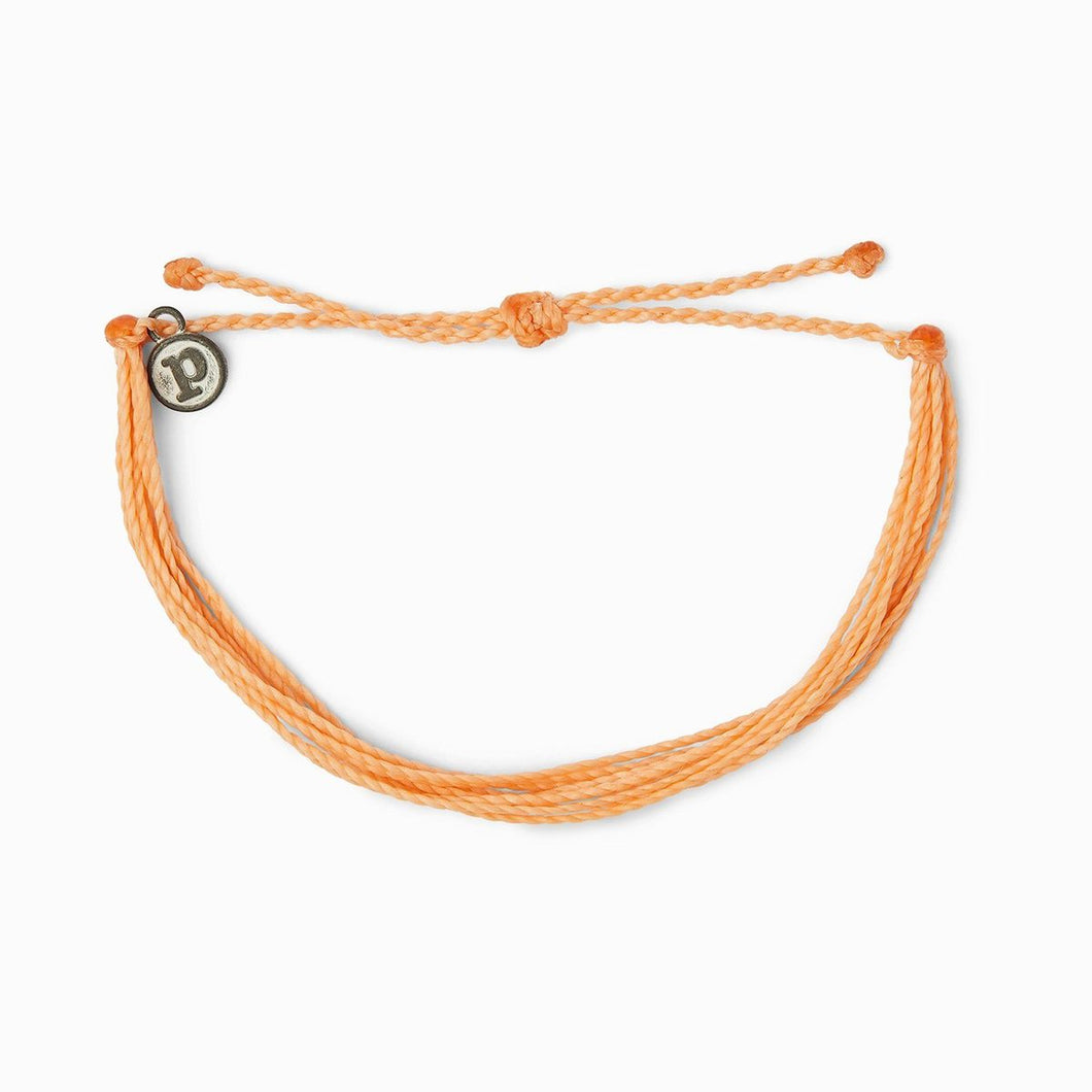 Peach Bright Solid Bracelet