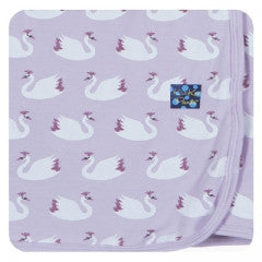 Thistle Swan Princess Swaddling Blanket