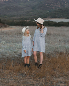Periwinkle Moondust Sadie Dress