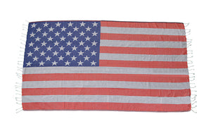 American Flag Towel