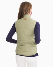 Load image into Gallery viewer, Seagrass Green Cobie Puffer Vest