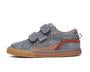 Covell Grey & Brown Suede Shoe