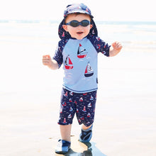 Load image into Gallery viewer, Boat 2PC Sunsuit