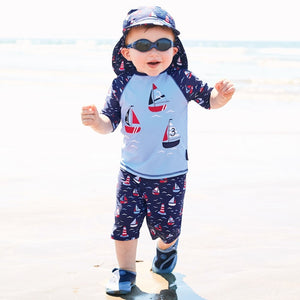 Boat 2PC Sunsuit