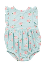Load image into Gallery viewer, Petite Rose Ruffle Sunsuit