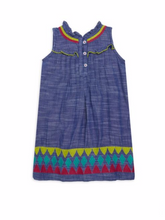 Load image into Gallery viewer, Rainfall Chambray Hatley Dress
