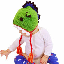 Load image into Gallery viewer, Green Dragon Beanie Hat