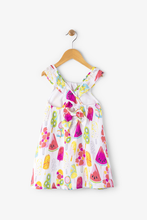 Load image into Gallery viewer, Fruity Lollies Bow Back Hatley Dress