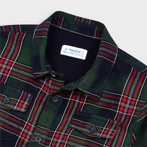 Plaid Twill Undershirt