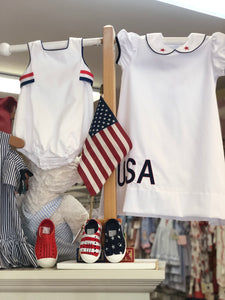 White Pique USA Dress