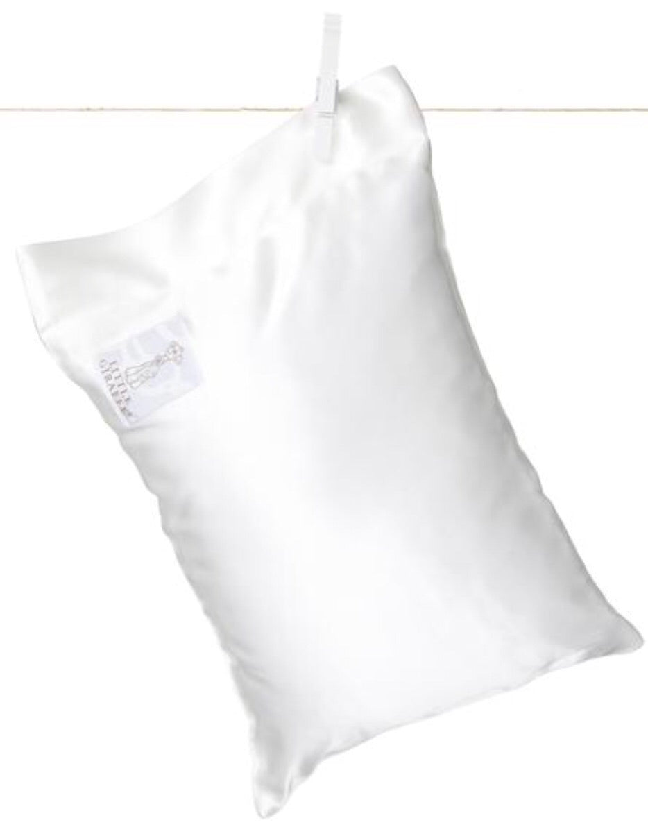 Cream Satin Nap Pillow