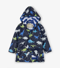 Load image into Gallery viewer, Dino Herd Colour Changing Raincoat