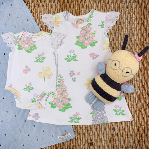 Old South Snapdragon Wendy Onesie