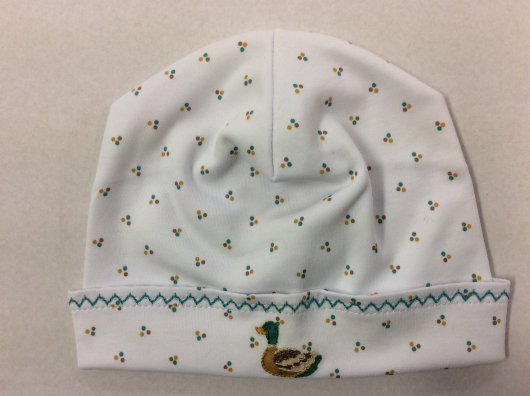 Duck Pond Embroidered Hat