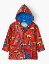Load image into Gallery viewer, Painted Dinos Color Changing Raincoat