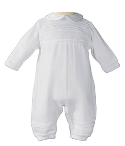 Christetning Baptism Knit Coverall