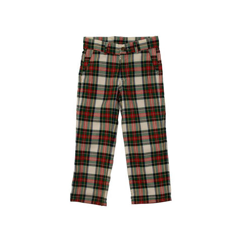 Aiken Polo Plaid & Nantucket Stork Prep School Pants