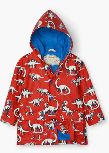 Painted Dinos Color Changing Raincoat