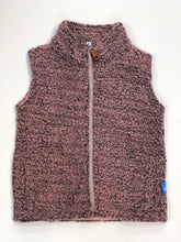 Load image into Gallery viewer, Pink & Grey Fleece Vest